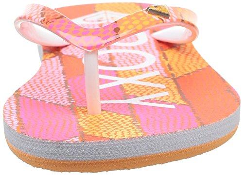 Roxy RG Pebbles V - Sandalias para niña Rosa (Pink / Pink)
