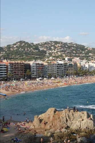 Lloret de Mar Spain Journal: 150 page lined notebook/diary