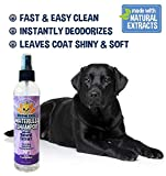 New Waterless Dog Shampoo | All Natural Dry Shampoo for Dogs or Cats No Rinse Required | 100% Non-Toxic with Natural Extract | Professional Grade Treatment - Made in USA - 1 Bottle 8oz