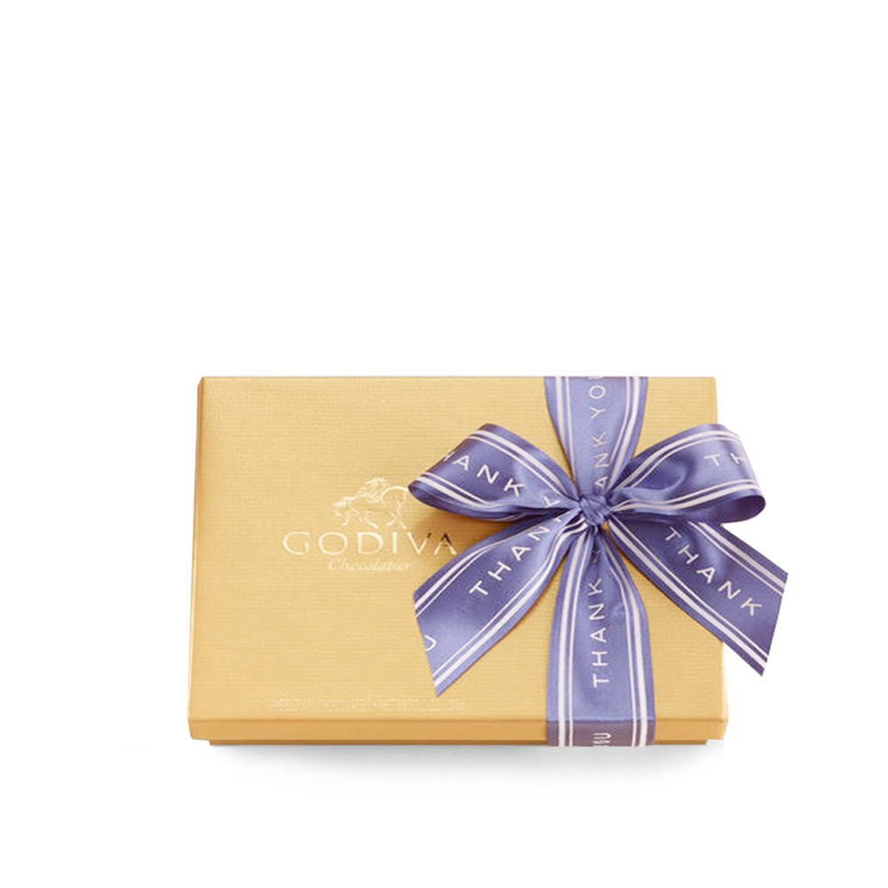 Godiva Chocolatier Gold Ballotin Candy, Thank