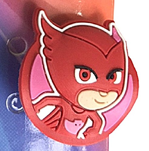 PJ Masks Kid's Light Up Spinner Red Digital Watch with Pop Up Feature