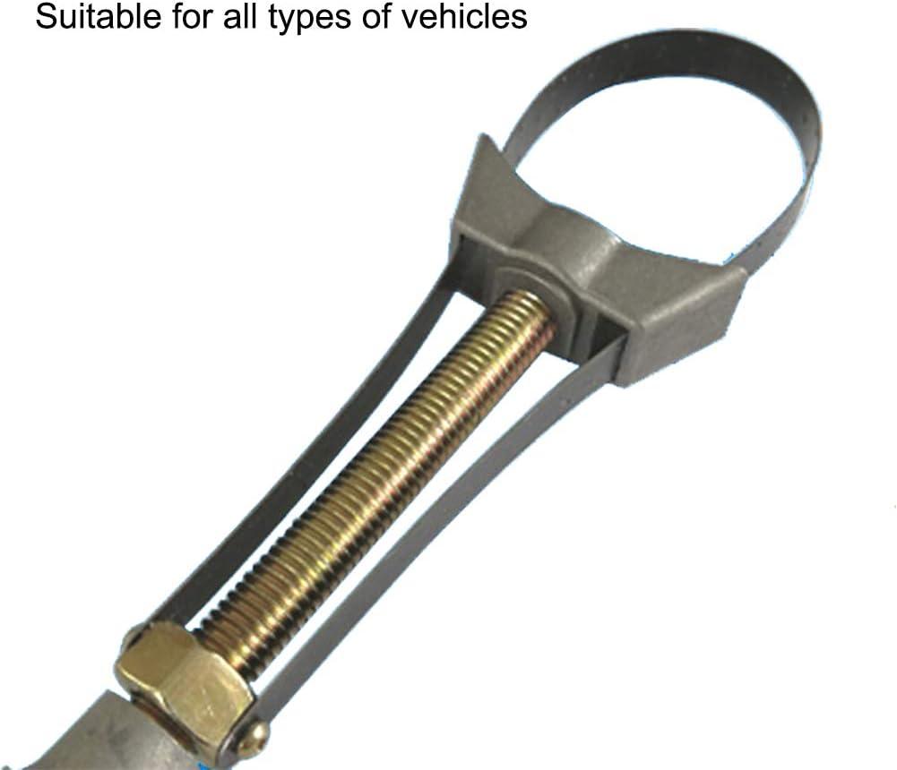 Onetek Multifonctionnel R/églable Voiture Auto Filtre Enl/èvement Outil Cap Cl/é /À Sangle Cl/és
