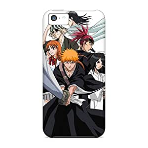 Tpu Angelerson Shockproof Scratcheproof Bleach Clan Hard Case Cover For Iphone 5c