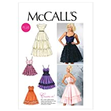 McCall's Patterns M6646 Misses'/Women's Dresses Sewing Template, Size RR (18W-20W-22W-24W)