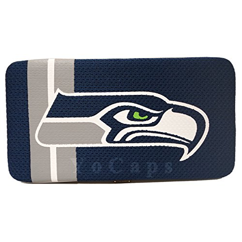 Seattle Seahawks Sell Mesh Wallet Women's Clutch Wallet NFL - Purse Littlearth Jersey