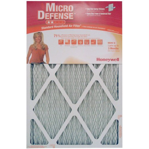 Honeywell CF108A1625/A Standard Air Cleaning Filter, 16 x 25 x 1-Inch