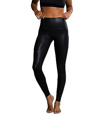 eb738f45f34c Onzie Yoga High Rise Legging 228 Black Fishnet (Black Fishnet, Small/Medium)