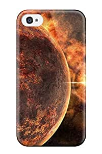 New Sci Fi Planets Skin Case Cover Shatterproof Case For Iphone 4/4s