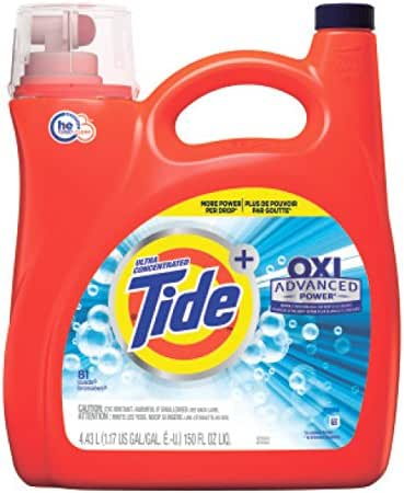 Laundry Detergent: Tide with Oxi