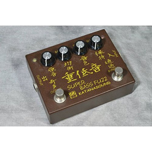 KATANA Sound カタナサウンド/SUPER BASS FUZZ 重低音 B07F255YB6