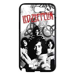 Custom Your Own Led Zeppelin Rock Band Samsung Galaxy Note 2 N7100 Case , Best Durable Led Zeppelin Galaxy Note 2 Case