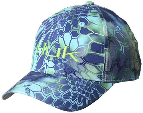HUK Performance Fishing Huk Kryptek Stretch Cap, Kryptek Pontus, - Camo Stretch Cap