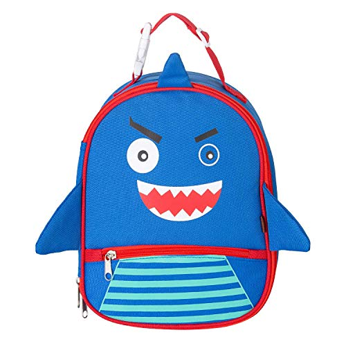 Children's Insulated Lunch Bags Reusable Cute Animal lunch tote Box Ice Pack Easy to Clean for Kids Boys Girls shark ()