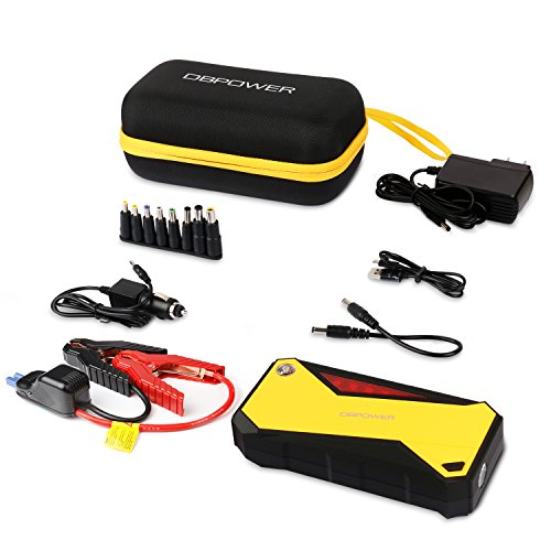 dbpower 600a peak 18000mah portable car jump starter up to import it all. Black Bedroom Furniture Sets. Home Design Ideas