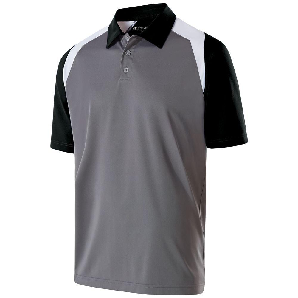 Hombre Escudo Polo Holloway Sportswear - 222492, L, Graphite ...