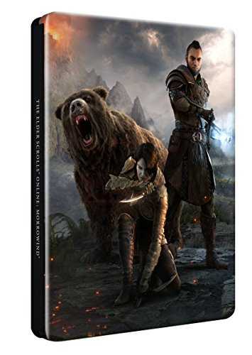 The Elder Scrolls Online: Morrowind Steelbook Case (No game included) (Exclusive to Amazon.co.uk) (PS4/Xbox One/Mac/PC)