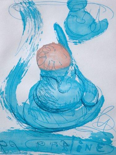 Claes Oldenburg Original Etching | Hand SIGNED | Ice Cream Desserts-Praline | Hand Numbered | Custom Frame | ART183;docs8482; Registered Documentation185; + ART183;care8482; + ART183;sure8482;179;