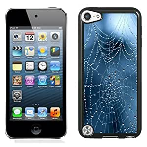 New Personalized Custom Designed For iPod Touch 5th Phone Case For Creative Cobweb Phone Case Cover