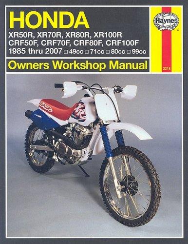 Honda XR & CRF 50/70/80/100: 1985 thru 2007 (Owners