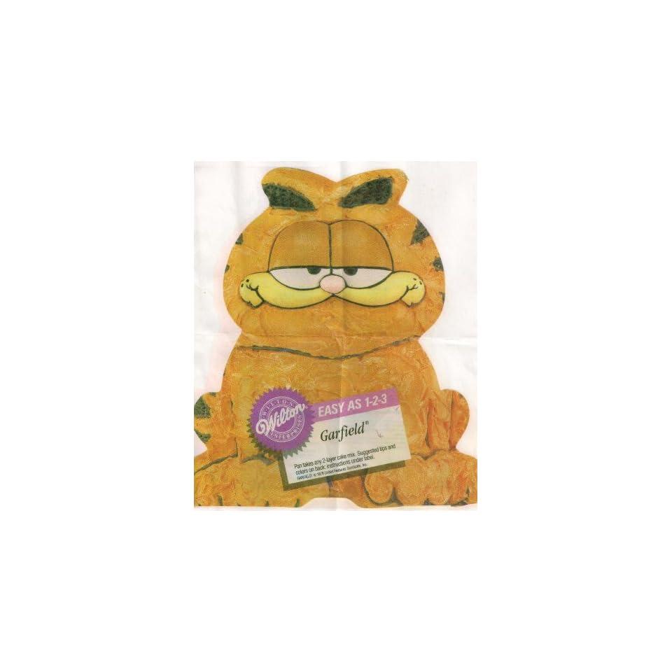 Wilton 1 2 3 Cake Pan Garfield the Cat (502 9403, 1978)
