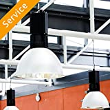 Commercial Light Fixture Replacement - Up to 2 Light Fixtures