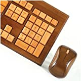 Impecca Usa Bamboo Wirelesskeyboard and Mous, Best Gadgets