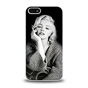 iPhone 5 5S case protective skin cover with Marilyn Monroe sexy design #5