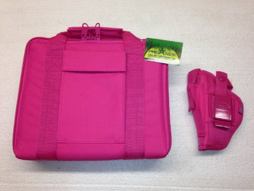 Pro-Tech Outdoors Ladies Here's One Just for You. Pink Case & Pink Gun Holster Fits Ruger lcp 380 with or with Out Laser