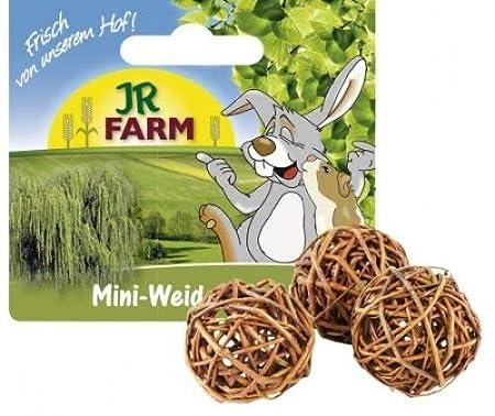 JR Mr. Woodfield Mini Weiden-Spielball 3 Stück 20g JR-Farm