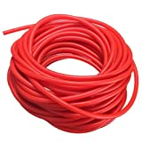 Exercise Band – SODIAL(R)Tubing Exercise Rubber Resistance Band Catapult Dub Slingshot Elastic, Red 10M