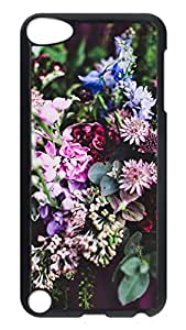 Brian114 Case, iPod Touch 5 Case, iPod Touch 5th Case Cover, Flowers Nature Vintage Retro Protective Hard PC Back Case for iPod Touch 5 ( Black )
