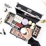 Homde Makeup Organizer Cosmetic Case Travel Make Up