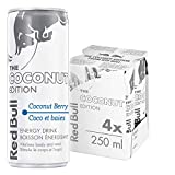 Red Bull Energy Drink, Coconut Berry, 4 Pack of 250ml Cans