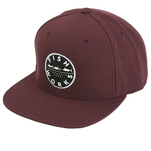 1411c1427 Fishworks Original Snapback Hat (Maroon) - Buy Online in Oman ...