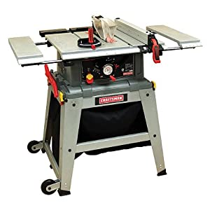 Craftsman 10 Quot Table Saw With Laser Trac 21807 Power