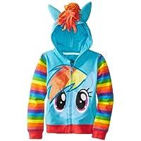 My Little Pony Rainbow Dash Blue Disfraz Sudadera Con Capucha Para Niñas (Chicas 8/10)