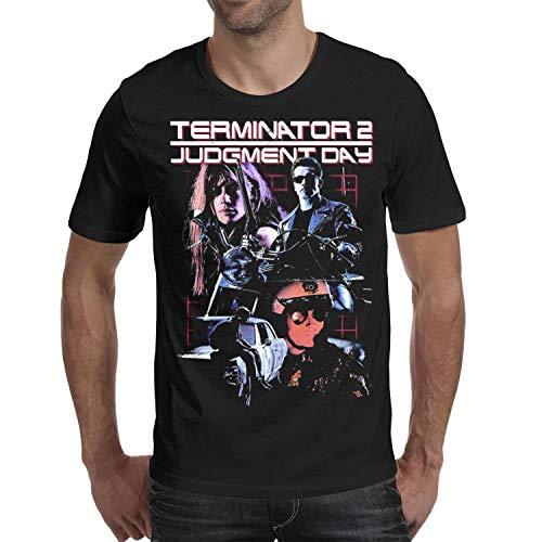 Terminator 2 Judgment Day Men's Crew Neck Tee. S to XXL