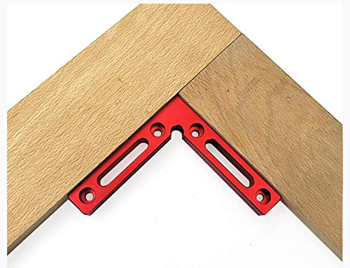 VOCAKA Positioning Squares 90 Degree L-Type Woodworking Precision Right Angle Positioning Block Clamp