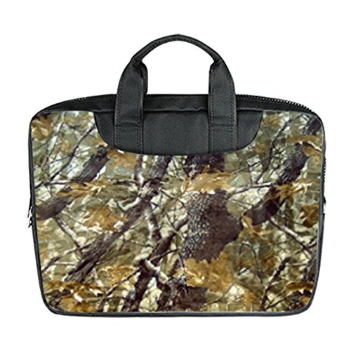 Bernie Gresham Woods Camo Camouflage Custom Laptop Bag Waterproof Laptop Bag Advanced Design Suitable for All Computers 11