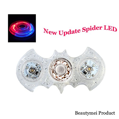 Beautymei Update New Shape Led Light Switch Fidget Spinner Edc Hand Spinner For Kids And Adult Funny Fidget Toy