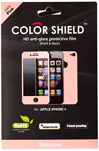 Bricson Colorshield IP4-CS1-14 Anti-Glare Coated Color Protective Film - 1 Pack - Retail Packaging - - Colorshield