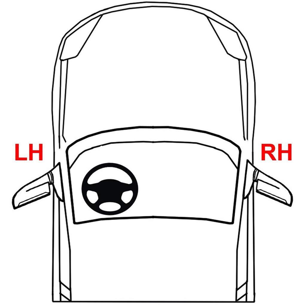 Aiming Para A6 C5 02-05 antiniebla Luces de conducci/ón 4B0941700C reemplazo del Lado Derecho de Foglight con el autom/óvil
