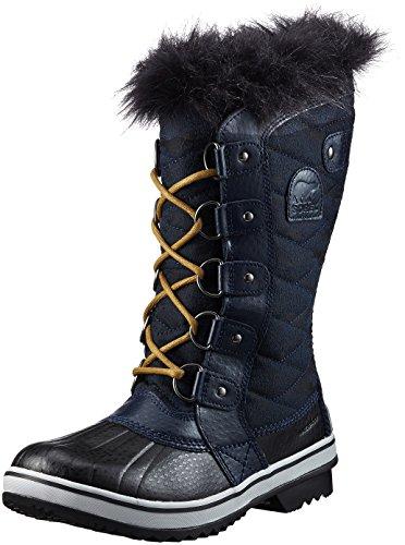 Winter Boots Navy (Sorel Women's Tofino II Collegiate Navy/Glare 9.5 B US)