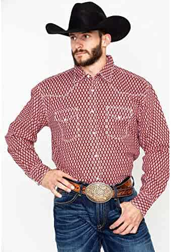 9030f3ca Wrangler Men's 20X Competition Advancaed Long Sleeve Western Shirt