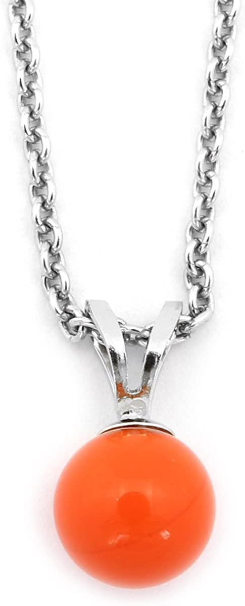 """Beauniq Solid Sterling Silver Rhodium Plated 0.8mm Box Chain Necklace up to 22/"""""""