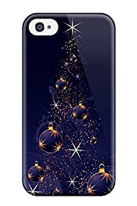 David R. Spalding's Shop 2419804K44401041 Top Quality Rugged Merry Christmas Everyone Case Cover For Iphone 4/4s