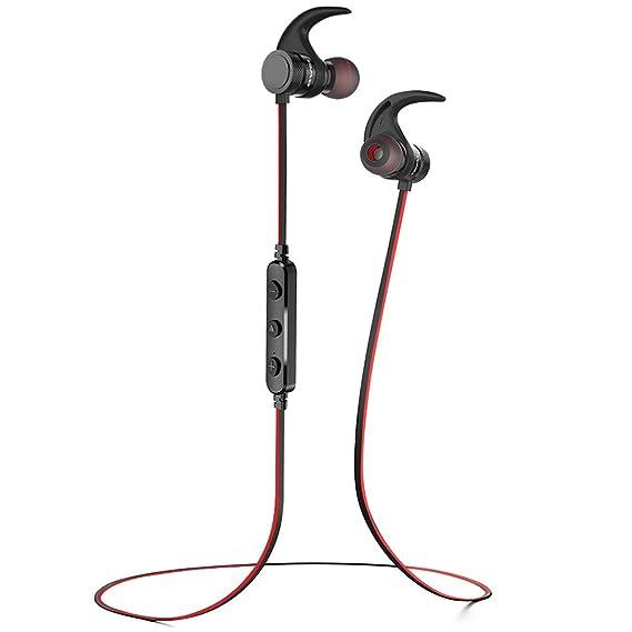e2dc1e0ad42 Bluetooth Headphones,AWEI Best Smart Magnet Switch Wireless Sports Earphones  w/Mic IPX4 Waterproof