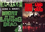 The Dead Walks DVD Bundle - Dawn of the Dead Land of the Dead & Night of the Living Dead George A. Romero + Vincent Price 8-Movie Classic Horror Collection