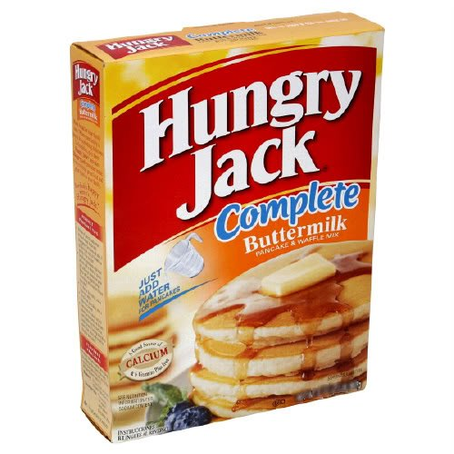 Hungry Jack Buttermilk Complete Pancake & Waffle Mix, 16 oz (Pack of 6) (Pancake Lil)
