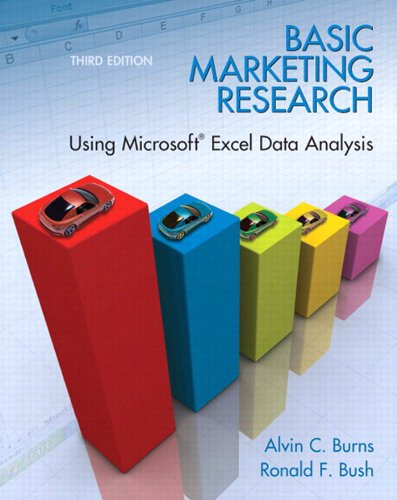 Basic Marketing Research Using Microsoft Excel Data Analysis (3rd Edition) Pdf